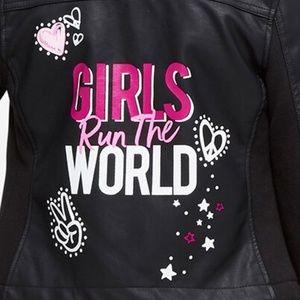 Justice Jackets & Coats - JUSTICE Girls 16/18 Run the World Moto Jacket